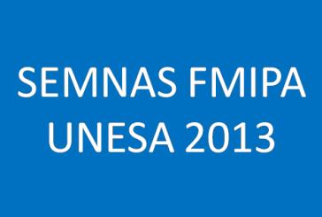 SEMINAR NASIONAL FMIPA UNESA 2013