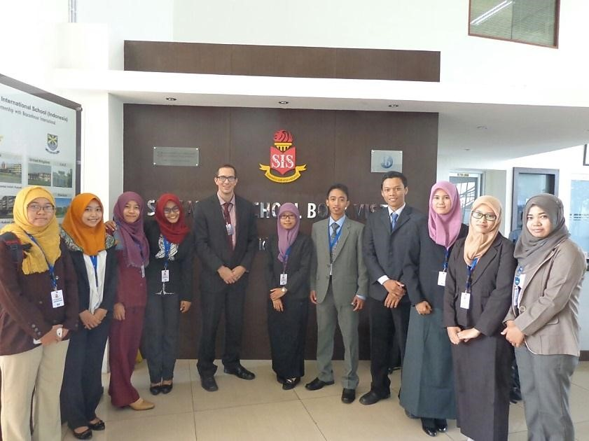 Program Internship 2015 di Singapore International School Jakarta