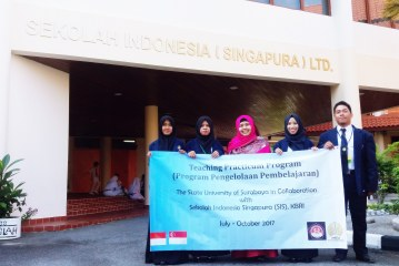 TEACHING PRACTICUM PROGRAM IN COLLABORATION WITH SEKOLAH INDONESIA SINGAPURA LTD.