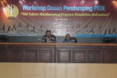 Workshop Pendampingan Program Kreativitas Mahasiswa