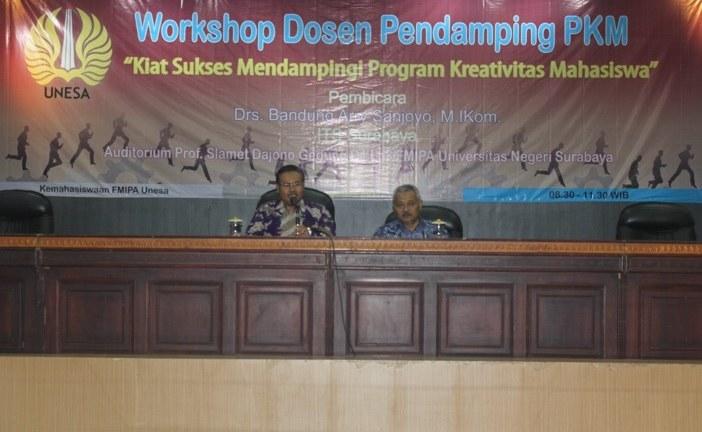 Workshop Pendampingan Program Kreativitas Mahasiswa