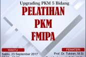 Pelatihan PKM 5 Bidang