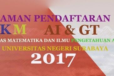 PENDAFTARAN PESERTA PKM AI GT USULAN TAHUN 2017