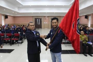 Pelantikan pengurus ORMAWA FMIPA Unesa Periode Tahun 2018.