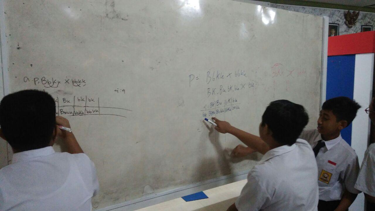 PENDAMPINGAN OSN SMPN 1 LAMONGAN  TAHUN 2018