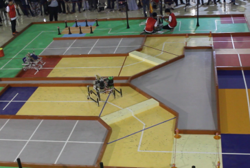 Kontes Robot Indonesia (KRI)2019 di Universitas Mataram